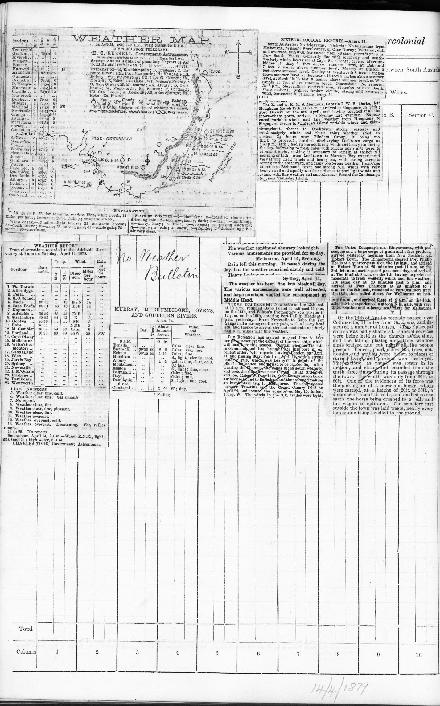 18790414t Weather map