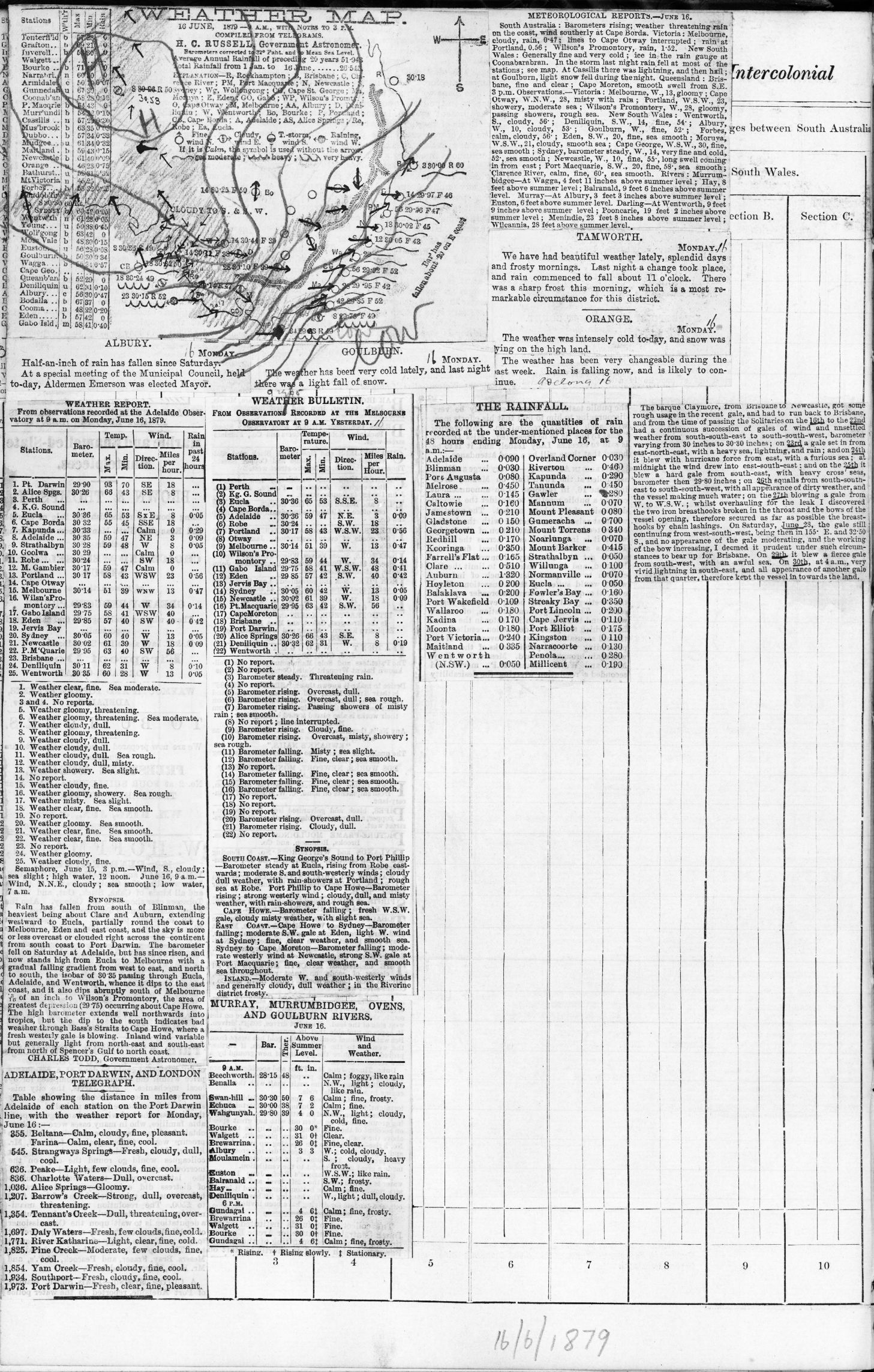 18790616t Weather map
